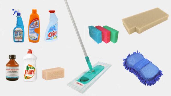 моющие средства для натяжных потолков